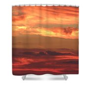 Clouds Of Figure Shower Curtain