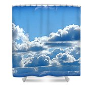 Clouds Of Glory II Shower Curtain