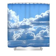 Clouds Of Glory Shower Curtain