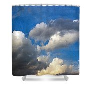 Clouds Of Today Shower Curtain