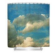 Clouds Of Tomorrow Shower Curtain
