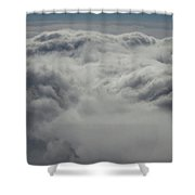 Clouds Over California Shower Curtain