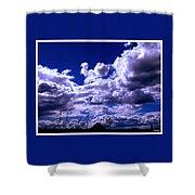Clouds Over Gavilan Peak Shower Curtain