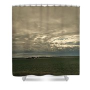 Clouds Over Illinois Shower Curtain