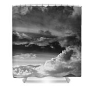 Clouds Over Loch Laich Shower Curtain