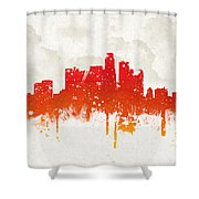 Clouds Over Los Angeles California Shower Curtain