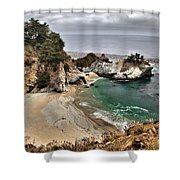 Clouds Over Mcway Shower Curtain