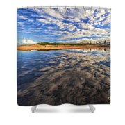 Clouds Over Narrabeen Lake Shower Curtain