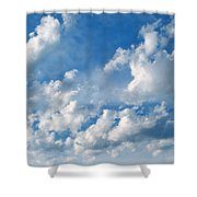 Clouds Over New Mexico Shower Curtain