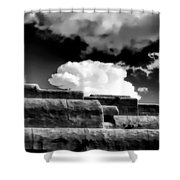 Clouds Over Santa Fe Shower Curtain
