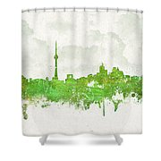Clouds Over Toronto Canada Shower Curtain