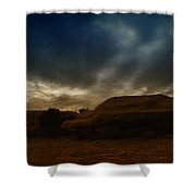Clouds Scape Shower Curtain