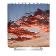 Clouds Shining Shower Curtain
