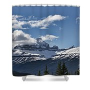 Clouds Sky Mountains Shower Curtain