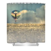 Clouds Within Clouds Shower Curtain