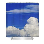 Cloudscape Shower Curtain