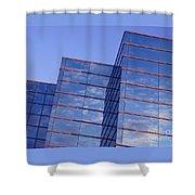 Cloudscape In Reverse Shower Curtain