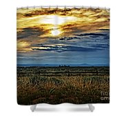 Cloudy Afternoon Shower Curtain