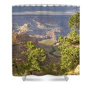 Cloudy Bright Angel Trail II Shower Curtain