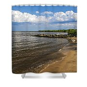 Cloudy Ceiling Shower Curtain