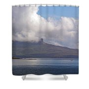 Cloudy Coast 1 Shower Curtain