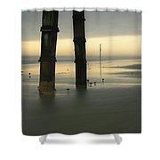 Cloudy Dawn 2  3-15-15 Shower Curtain