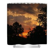 Cloudy Dawn Shower Curtain