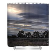 Cloudy Day 4 Shower Curtain