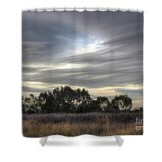 Cloudy Day 5 Shower Curtain