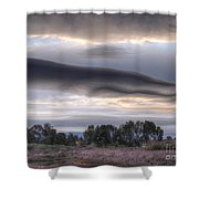 Cloudy Day 6 Shower Curtain