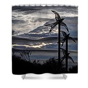 Cloudy Day 8 Shower Curtain
