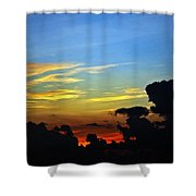 Cloudy Morning In Fort Lauderadale Shower Curtain