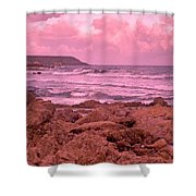 Cloudy Sea Shower Curtain