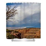 Cloudy Sky Shower Curtain