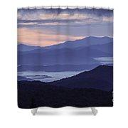 Cloudy Sunrise Shower Curtain