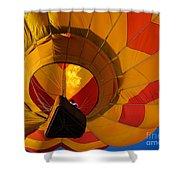 Clovis Hot Air Balloon Fest 3 Shower Curtain