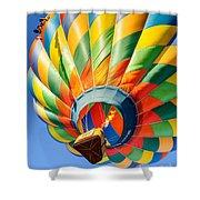 Clovis Hot Air Balloon Fest 5 Shower Curtain