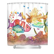 Clown To My Left Shower Curtain