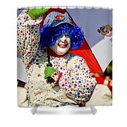 Clowning Around Shower Curtain