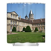 Cluny Abbey - Burgundy Shower Curtain