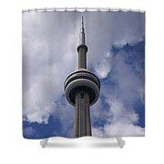 Cn Tower - Detail Shower Curtain