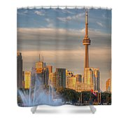 Cn Tower Toronto Shower Curtain