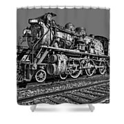 Cnr Number 47 Bw Shower Curtain
