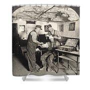 Coal Mine Hospital, C1917 Shower Curtain