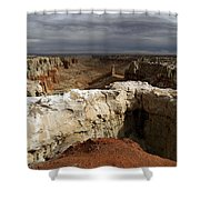 Coal Mine Mesa 08 Shower Curtain