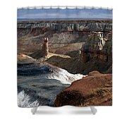 Coal Mine Mesa 09 Shower Curtain