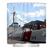Coast Guard 37  Shower Curtain