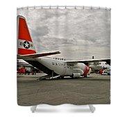 Coast Guard Alaska Shower Curtain