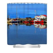 Coast Guard At French Creek Shower Curtain