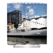 Coast Guard 37 - Baltimore Harbor Shower Curtain